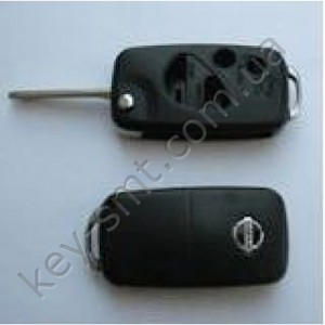 NISSAN Корпус  выкидного ключа с лезвием NSN14 с 4 кнопками.(77905)I