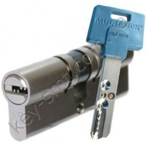 Цилиндр MUL-T-LOCK INTERACTIVE (33х43)к/к никель сатин