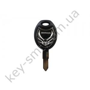 Корпус ключа с местом под чип Honda VT 600 C, X 400 R и другие, лезвие HON31 /D