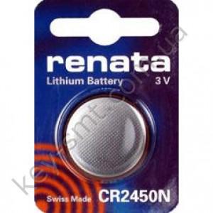 CR2450 Renata батарейка (Lithium 3V) (упаковка = 1шт)