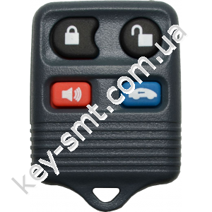 Пульт Ford Focus, Mustang, Taurus и другие, 315 Mhz, CWTWB1U345/ 31/ 22, GQ43VT11T, 3+1 кнопки /D
