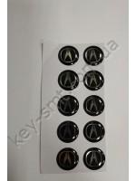 ACURA автозначек силиконовый (универсальный для всех автоконтейнеров)