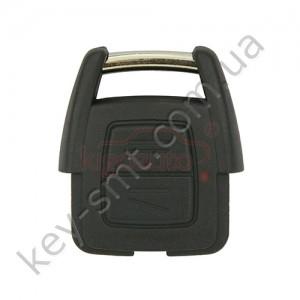 Корпус ключа Opel Agila и другие, 2 кнопки, лезвие HU100 /D