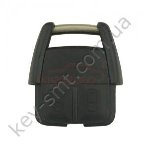 Корпус ключа Opel Agila и другие, 3 кнопки, лезвие HU100 /D