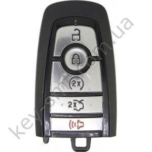 Смарт ключ Ford F-150, F-250, F-350, F-450, F-550, 902 Mhz, A2C93142600, PCF7953P/ Hitag Pro/ ID49, 4+1 кнопки, 17-19 /D