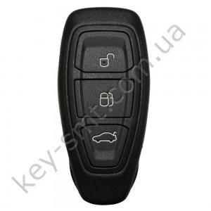 Смарт ключ Ford Focus, Fiesta, C-Max и другие, 433 Mhz, KR55WK48801, 4D-63 80bit, 3 кнопки /D