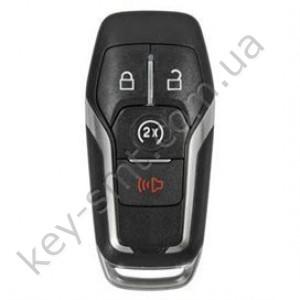 Смарт ключ Ford Fusion, Edge, Explorer, 315 Mhz, A2C31243800, PCF7953/ Hitag Pro, 3+1 кнопки /D