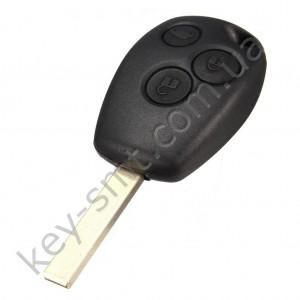 Корпус ключа Opel Movano и другие, 3 кнопки, лезвие VA2 /D