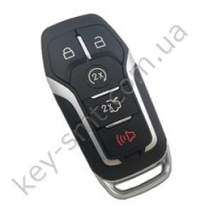 Смарт ключ Ford Fusion, Edge, Explorer, 902 Mhz, A2C31243300, PCF7953/ Hitag Pro, 4+1 кнопки /D