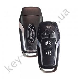 Смарт ключ Ford Mondeo, Focus, Fiesta и другие, 433 Mhz, A2C81541400, PCF7953/ Hitag Pro, 4 кнопки /D