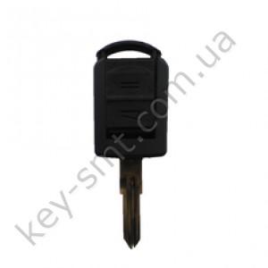 Корпус ключа Opel Omega и другие, 2 кнопки, лезвие YM28 /D