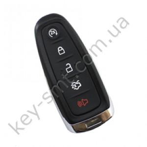 Смарт ключ Ford Taurus, Focus, Escape и другие, 315 Mhz, M3N5WY8609, PCF7945/ Hitag 2/ ID46, 4+1 кнопки /D
