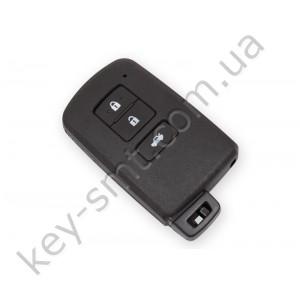 Смарт ключ Toyota Corolla, Camry, Altis, 433Mhz, BA2EQ Pg1:88, H-chip, 3 кнопки /D