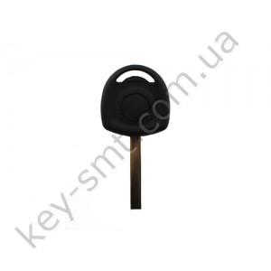 Корпус ключа с местом под чип Opel Adam, Astra, Corsa и другие, лезвие HU100, без лого /D