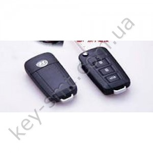 HYUNDAI Корпус выкидного ключа с 3 кнопками(MB961)