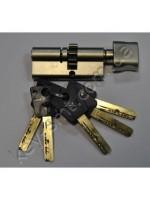 Цилиндр MUL-T-LOCK 7х7 (31х35)к/п шестерня,никель сатин 5 ключей