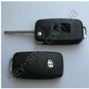 HYUNDAI Корпус выкидного ключа с лезвием  HYN6Tс 2 кнопками (10/40)