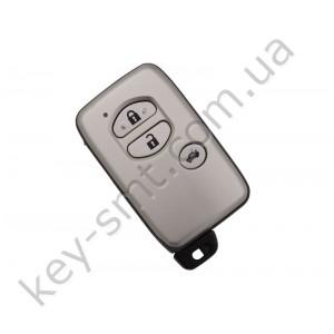 Смарт ключ Toyota Highlander, Kluger, Европа, 433Mhz, B77EA Pg1:98, G-chip, 3 кнопки /D