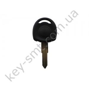 Корпус ключа с местом под чип Opel Astra, Corsa, Combo и другие, лезвие HU46, без лого /D