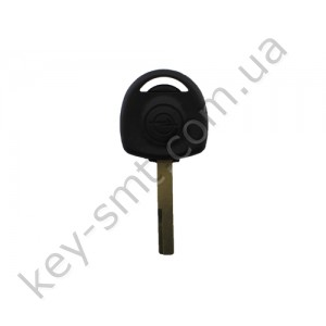 Корпус ключа с местом под чип Opel Calibra, Vectra и другие, лезвие YM27 /D