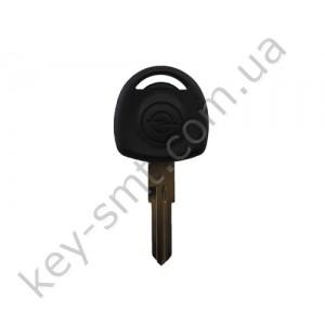 Корпус ключа с местом под чип Opel Astra, Tigra, Omega и другие, лезвие YM28, без лого /D