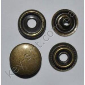 Кнопка каппа (15мм)  антик (720) №61 (4233)