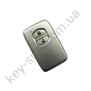 Смарт ключ Toyota Land Cruiser, 433 Mhz, B53EA Pg1:D4, ID4D-67, 2 кнопки /D