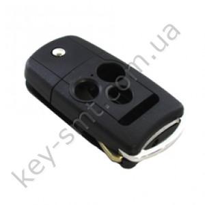 Корпус выкидного ключа Honda 3+1 кнопки, лезвие HON66 /D