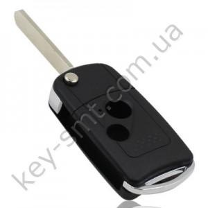 Корпус выкидного ключа Honda Accord, Civic, CR-V и другие, 2 кнопки, бол. лого /D