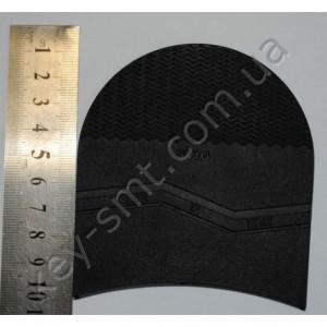 П/у набойка SVIG ITALY (усиленная +20%) №3 (6 мм)  маленькая цв. чёрный (30241)