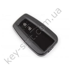 Смарт ключ Toyota Prius, 433 Mhz, BR1EW Pg1:A9, H-chip, 2 кнопки /D