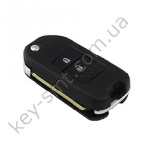 Корпус выкидного ключа Honda Accord, Civic, CR-V и другие, 2 кнопки, лезвие HON66, под мал. плату /D