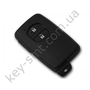 Смарт ключ Toyota Prius, 433Mhz, B74EA Pg1:98, G-chip, 2 кнопки /D
