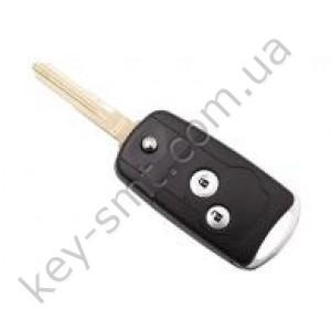 Корпус выкидного ключа Honda Accord, Civic, CR-V и другие, 2 кнопки, под переделку, тип 1 /D