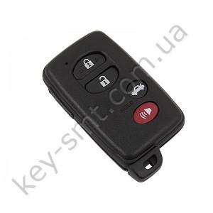 Смарт ключ Toyota Venza, 315Mhz, HYQ14ACX Pg1:98, G-chip, 3+1 кнопки /D