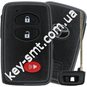 Смарт ключ Toyota Venza, Prius, 4Runner, 315 Mhz, HYQ14ACX Pg1:98, G-chip, 2+1 кнопки /D