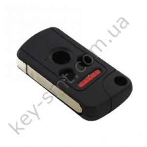 Корпус выкидного ключа Honda Accord, Pilot, Civic, CR-V, 3+1 кнопки, под переделку /D