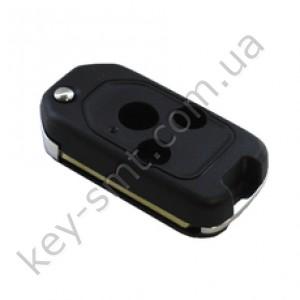 Корпус выкидного ключа Honda Accord, Pilot, Civic, Odyssey и другие, 3 кнопки, под переделку, квадрат /D