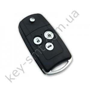 Корпус выкидного ключа Honda Accord, Pilot, Civic, Odyssey и другие, 3 кнопки, под переделку, стиль Acura /D