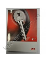 107 Каталог заготовок ключей Silca (английские+вертикальные) 294 страницы