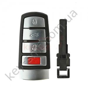 Лезвие смарт ключа Volkswagen Passat, CC, Magotan, HU66 /D