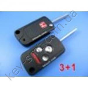 HONDA Корпус выкидного ключа с 3+1 кноп+паник (M124)
