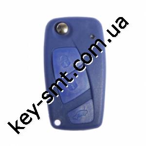 Корпус выкидного ключа Fiat, 2 кнопки, лезвие SIP22 /D
