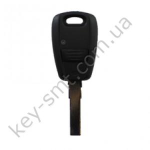 Корпус ключа Fiat Doblo, Ducato, Idea, Punto, Stilo, 1 кнопка, лезвие SIP22 /D