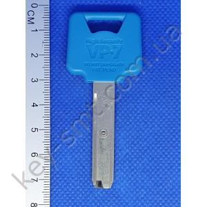 Оригинал VEGA VP-7 V07 44.5мм /(Заготовка ключа только для изготовления,КЛЮЧ+КАРТА обязательно!!!)