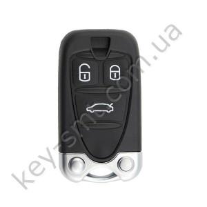 Корпус смарт ключа Alfa Romeo 159, 3 кнопки /D