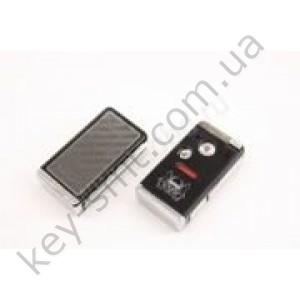 Корпус выкидного ключа Honda Pilot, Civic и другие, 2+1 кнопки, лезвие HON66, под переделку, черный /D