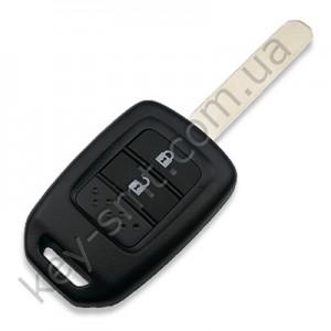 Корпус ключа Honda Civic, Fit и другие, 2 кнопки /D