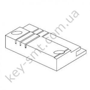 Тиски MATRIX (левая/правая губки, левый упор) D910490ZR