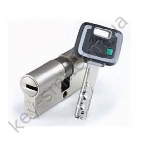 Цилиндр MUL-T-LOCK MT5+ (45х65)к/к никель сатин